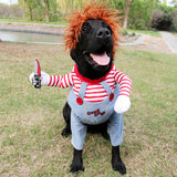 Deadly dog Halloween Costume