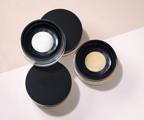 Our finely-milled multipurpose powder that lets you mattify, highlight and bake makeup in style to lend a natural, luminous matte finish. Curated for all skin tones, it blurs the appearance of pores, fine lines and absorbs excess oil. Long-lasting & paraben-free, this tinted setting powder is extremely light and blends seamlessly into the skin whilst ensuring melt-proof makeup. It is available in 5 shades and visibly highlights the skin.