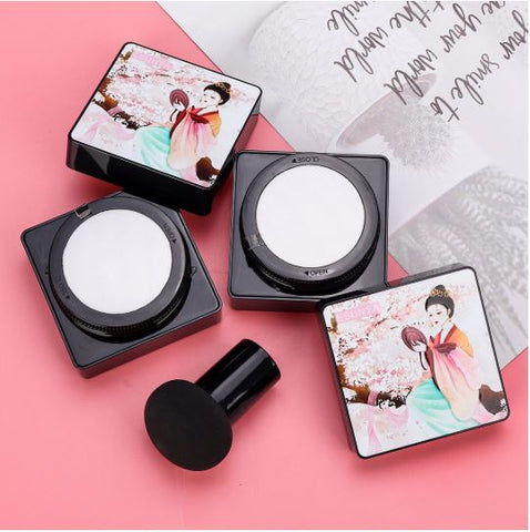 Waterproof Air Cushion Foundation (Free Mushroom Applicator)