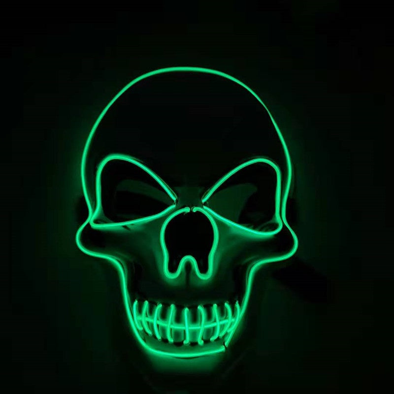 Glowing Skull Halloween Mask