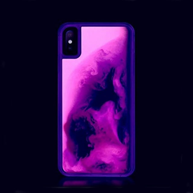 QuickSand Neon Glow Up Iphone Case