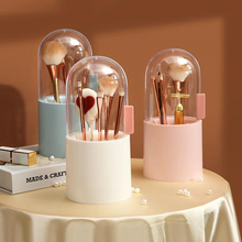 Load image into Gallery viewer, 180 degree Pearl Brush Holder and Makeup Organizer