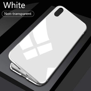 Magnetic Glass Iphone Case