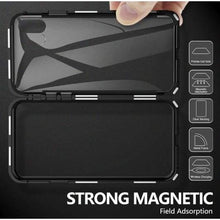 Load image into Gallery viewer, Magnetic Glass Iphone Case