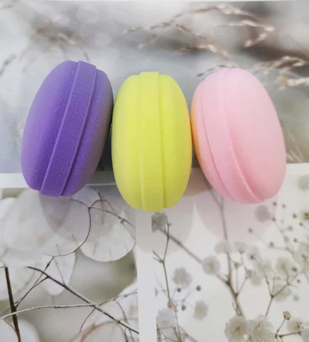 Macaroon Makeup Blenders( Pack of 4)