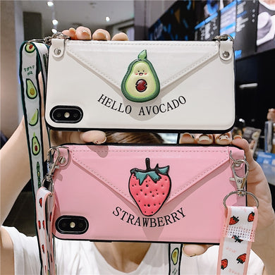 Kawaii StrapIt Iphone Case