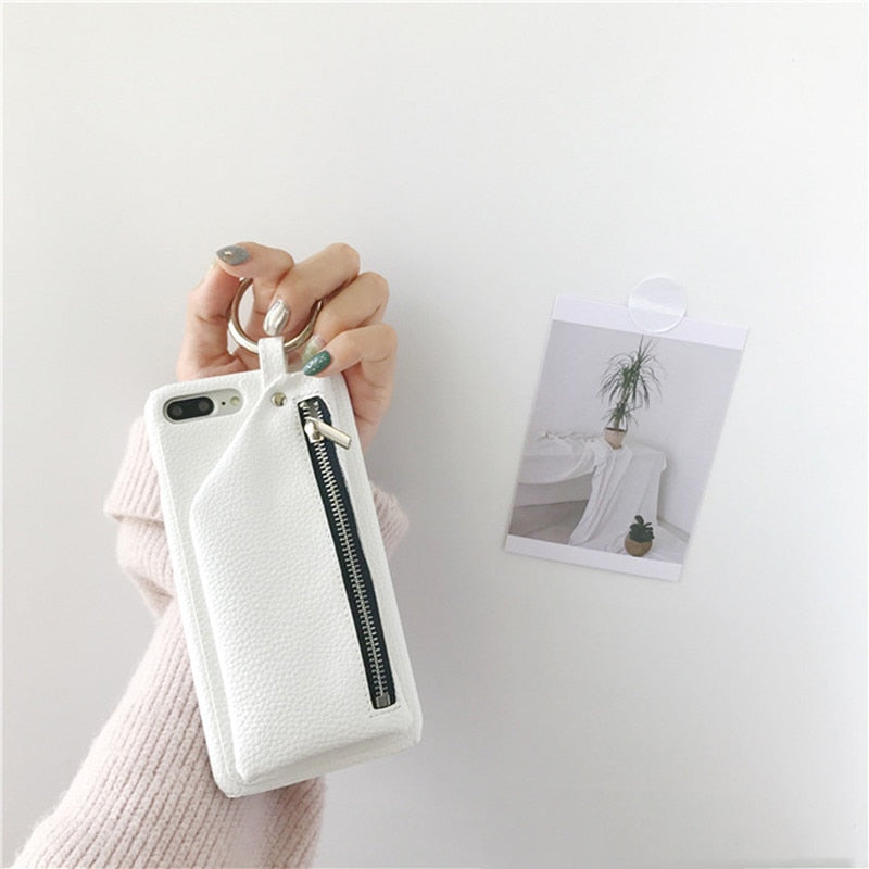 Iphone Case with Card Holder/Wallet