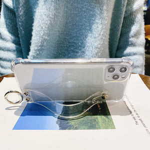 Transparent StrapIT iPhone Case