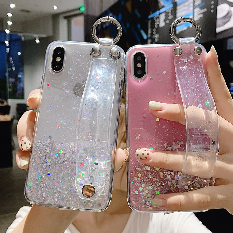 Glitter StrapIt Phone Case