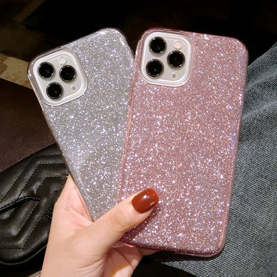 Gradient Glitter Iphone Case