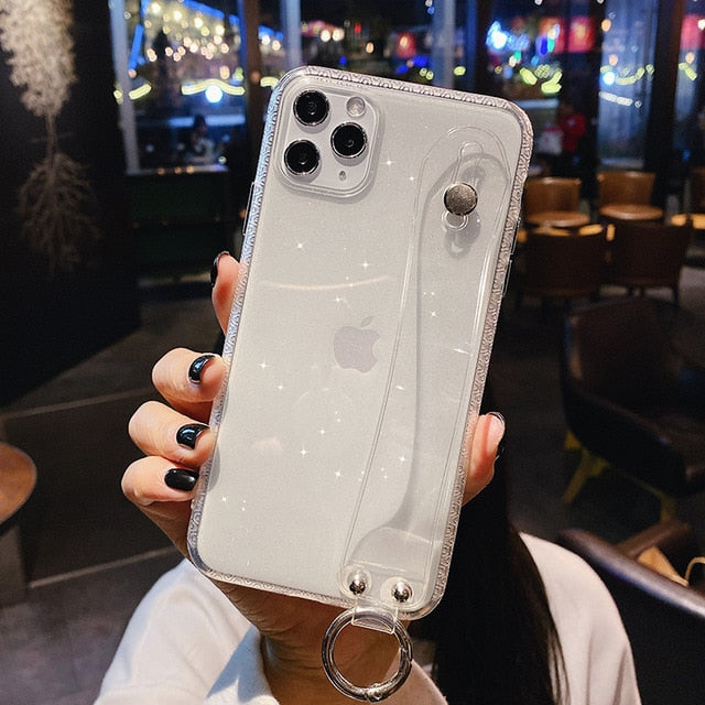 Glitter Powder StrapIt Iphone Case