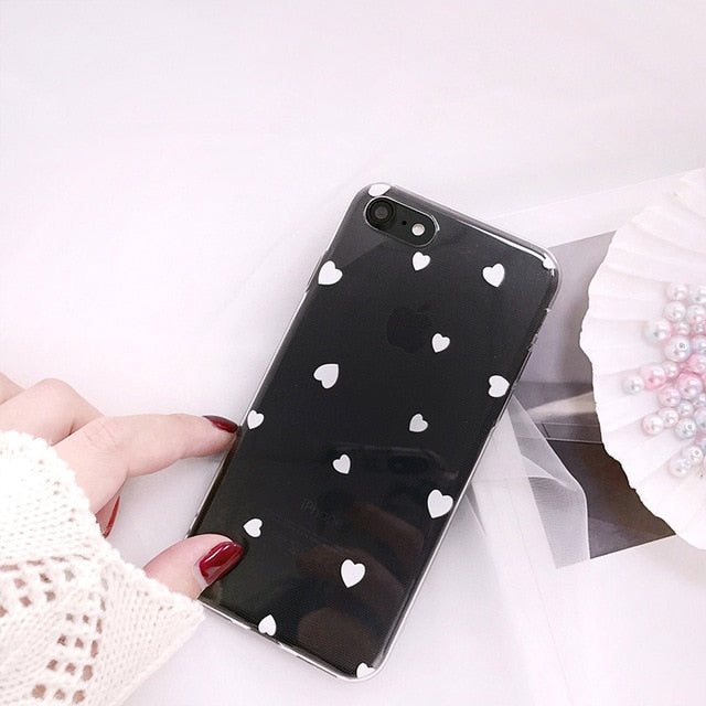 Retro Hearts PolkaDot Case