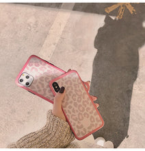 Load image into Gallery viewer, Kawaii Leopard Iphone Case