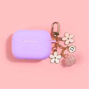 Lilac Daisy Airpods Case