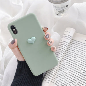Candy Hearts Silicone Case