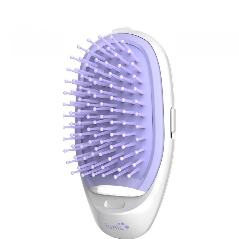 Negative Ion Electric Straightening Hair Brush - Viral Beauty Shop