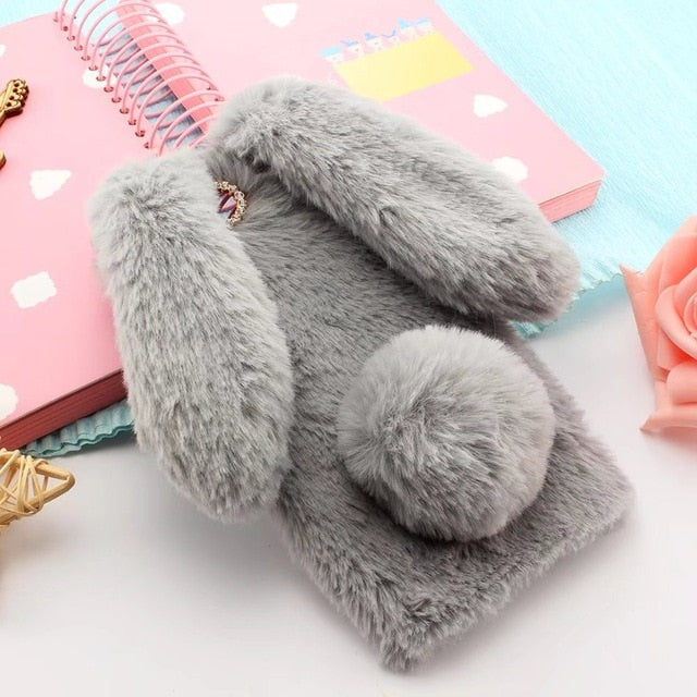 Plush bunny iPhone Case
