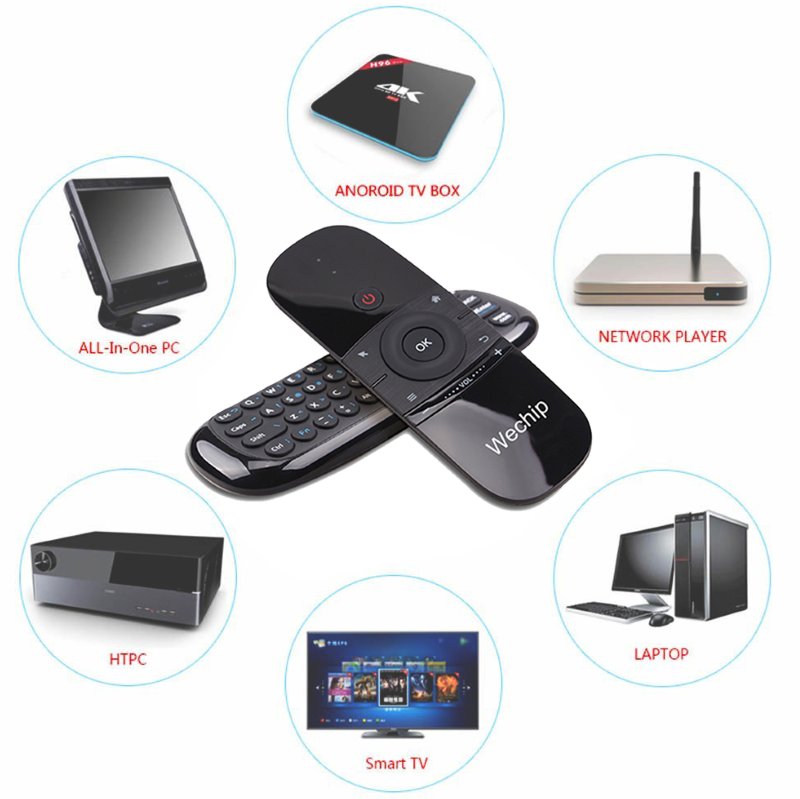 Smart TV Air Mouse Multi-functional Remote with Keyboard