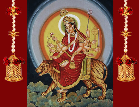 Third Day of Navratri : Worshiped on Goddess Chandra Ghanta