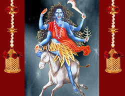 Seventh Day of Navratri : Worshiped on Goddess Kaal Ratri