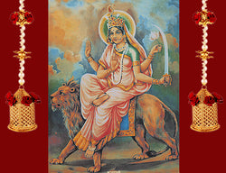 Sixth Day of Navratri : Worshiped on Goddess Katyayani