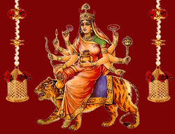 Forth Day of Navratri : Worshiped on Goddess Kushmanda