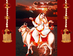 Eighth Day of Navratri : Worshiped on Goddess Mahagauri