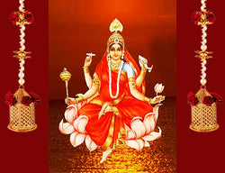 Nineth Day of Navratri : Worshiped on Goddess Siddhidhatri