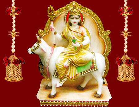 First Day of Navratri : Worshiped on Goddess Shailaputri