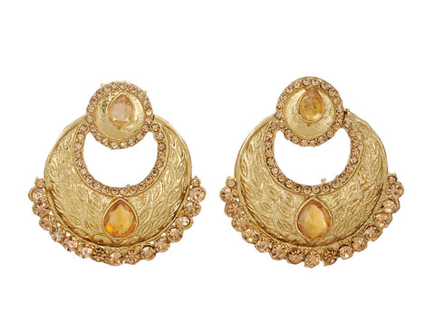 Stylish and Trendy Golden Earrings