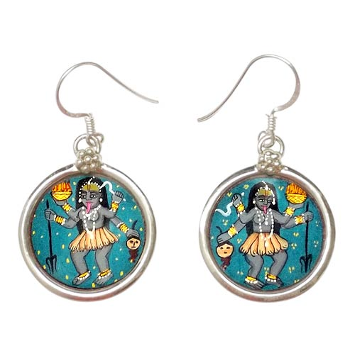 Goddess Mahakali - Earrings