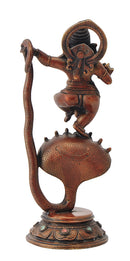 God Ganesha Dancing on Sheshnaga