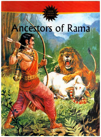 Ancestors of Rama - Paperback Comic Book