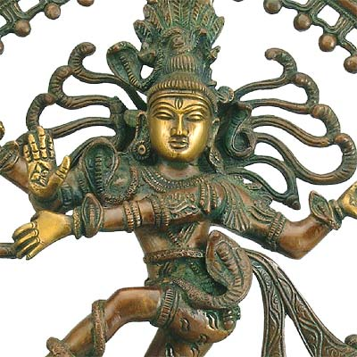 """Nataraja"" Lord Of The Universal Dance - Brass Sculpture"