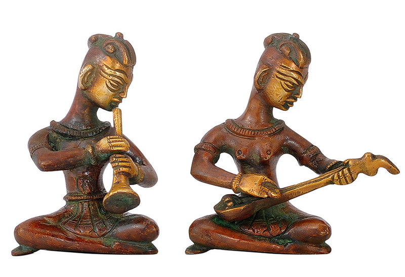 Musician Group - Brass Figurines