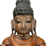 Buddha's Blessing - Fine Wood Statue