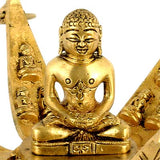 Twenty Four Tirthankaras in Lotus - Brass Statue