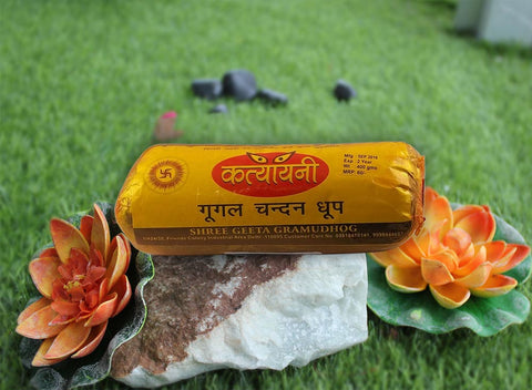 Katyayni Guggal Chandan Dhoop 400 gm.