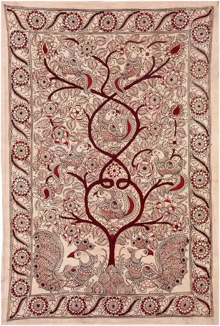 Kalamkari Tree of Life Painting