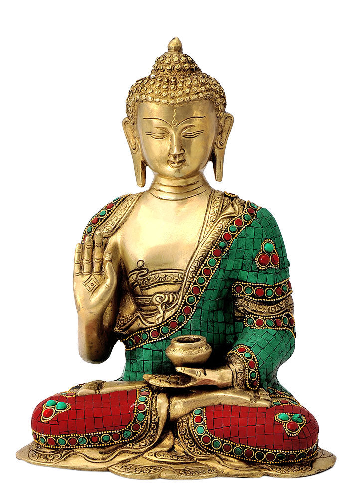 Seated Blessing Buddha