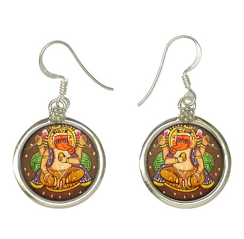 Earrings 'Ganpati Deva'