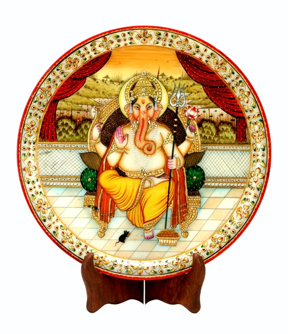 The Elephant God-Ganesha Painting