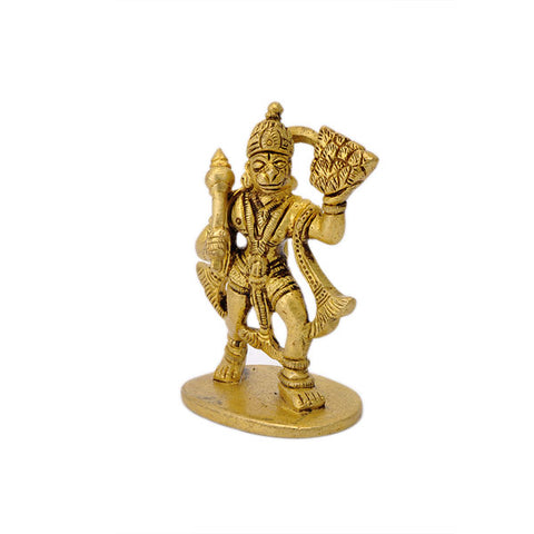Lord Hanuman Carrying Dronagiri Mountian 3.25""