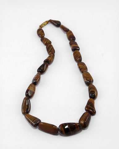 Golden Path - Tiger Eye Stone Necklece