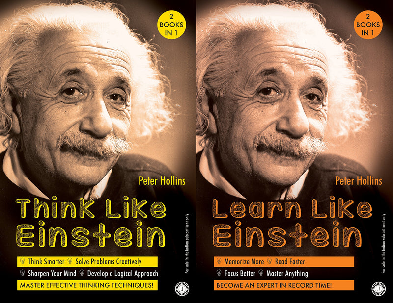 Think Like Einstein & Learn Like Einstein (2 Books in 1)
