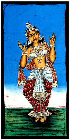The Nymph 'Apsara' Batik Painting