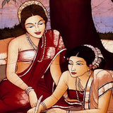 The Love Letter - Batik Painting