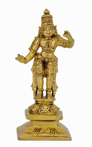 Lord Rama Statue in Brass