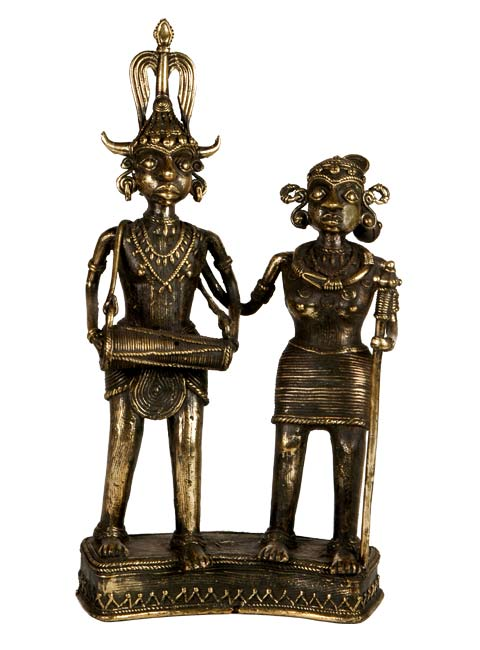 Dhokra Craft - Couple