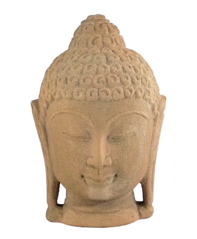Hand Crafted Buddha Decorative Head - Fine Stone Carving